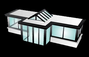 choisir son modele de verandas alu. Black Bedroom Furniture Sets. Home Design Ideas