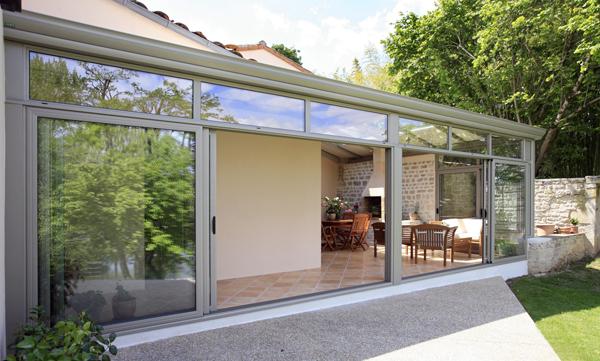 Ouvertures pour veranda fenetre et veranda coulissante - Transformer une porte normale en porte coulissante ...